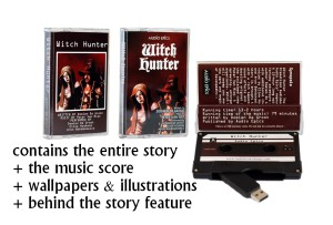 Witch Hunter Audiobook on Tape