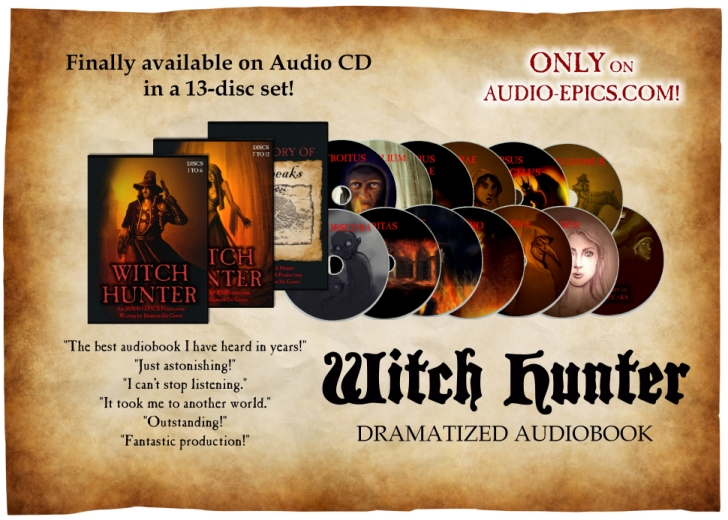 Witch Hunter on CD
