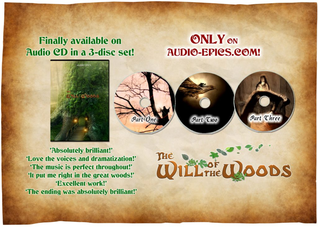 The Will of the Woods on CD