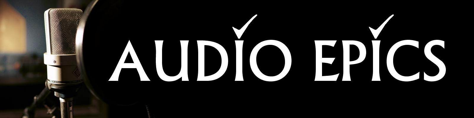 Audio Epics banner